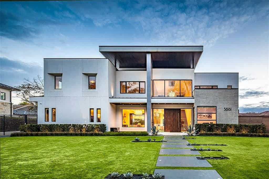 glamorous ultra modern tanglewood home in which the kitchen, office, and other home living solutions were designed by eggersmann