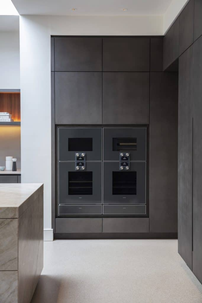 eggersmann bespoke kitchens appliance wall is part of the project nominated for sbid international design award 2019