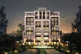 poly hyde park residential multi-unit development has 264 apartments featuring high-end contemporary cabinetry by eggersmann