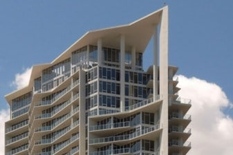 the signature skyscraper rentals project in st petersburg florida includes 246 units with luxury custom cabinetry by eggersmann