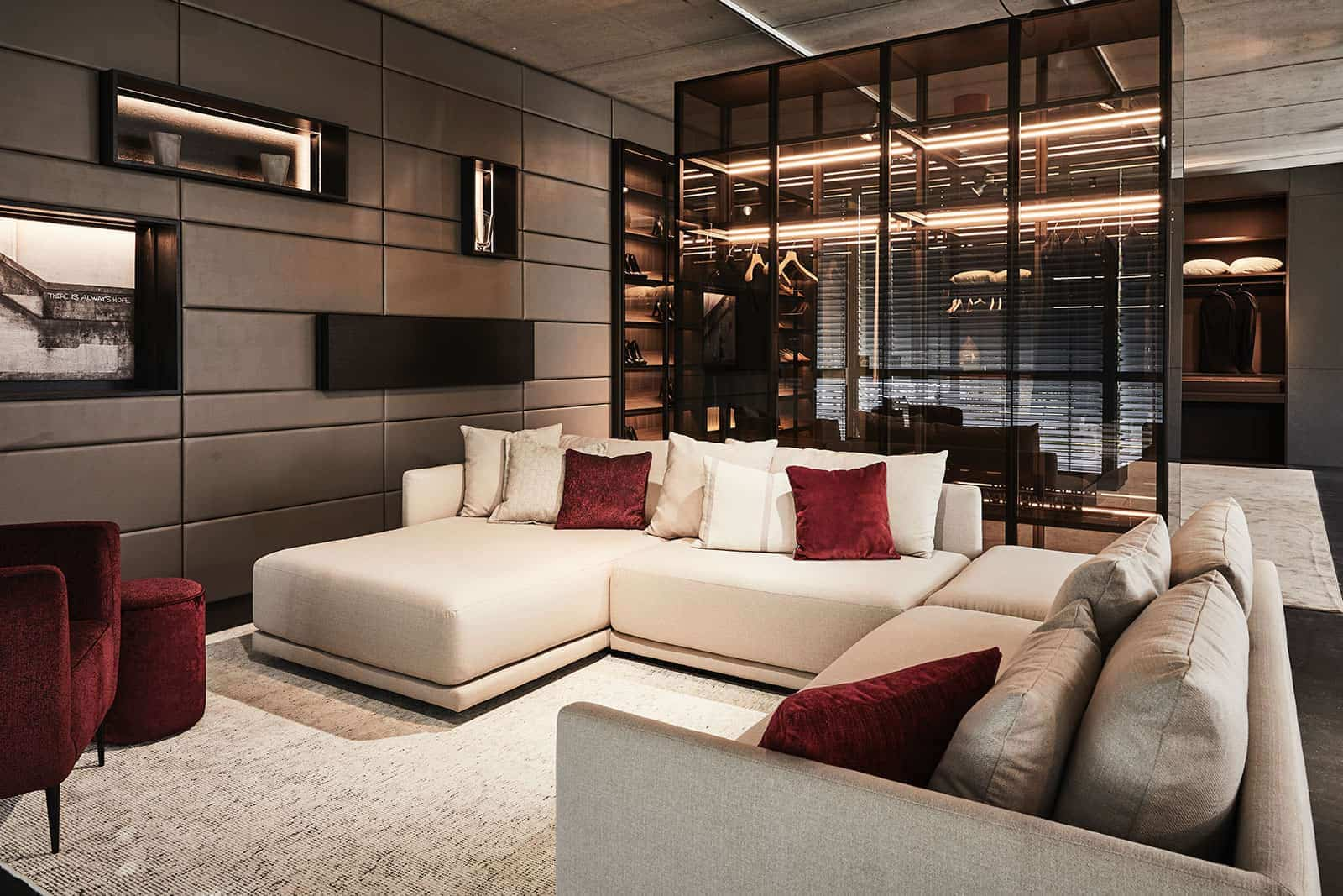 luxury bespoke furniture and home living solutions by eggersmann