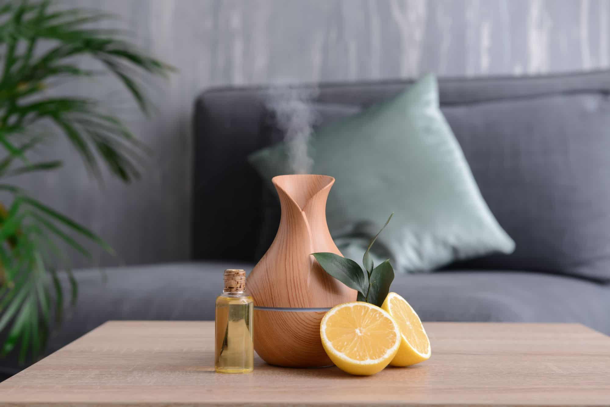 Citrus scents like these oranges and the essential oils can give you energy