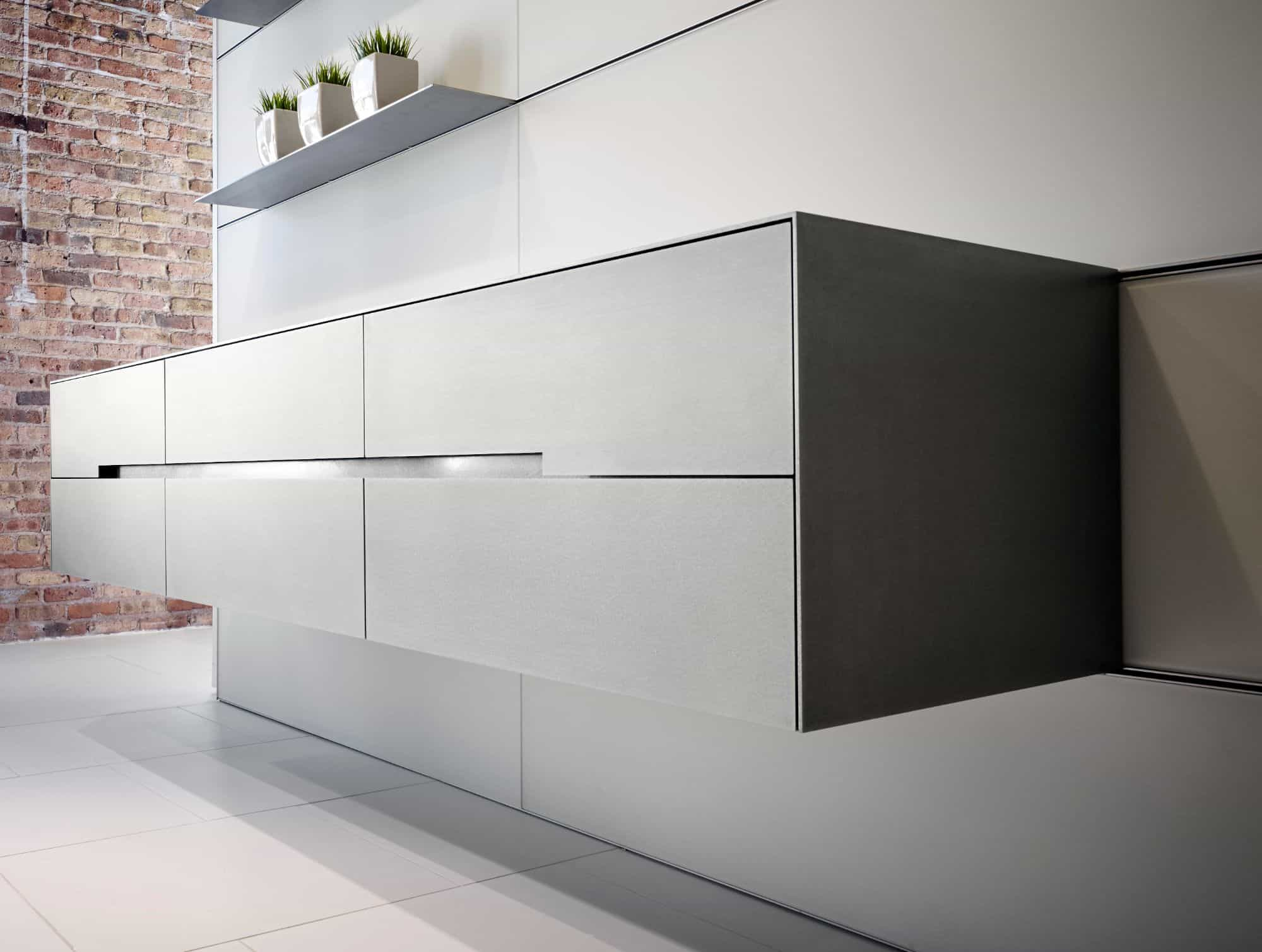 Hermetic Stainless steel surface