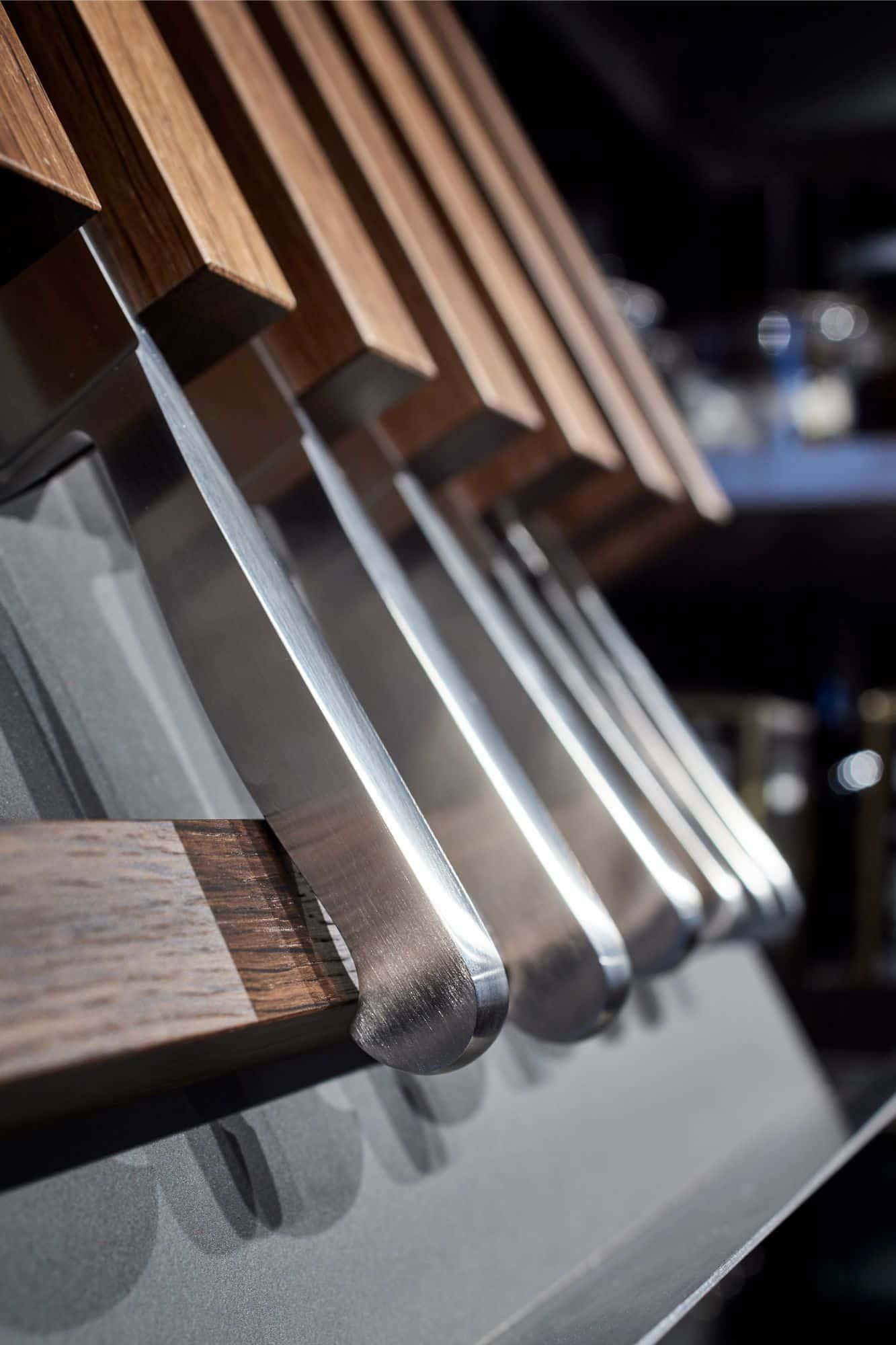 custom knife storage in eggersmann bespoke germany cabinetry