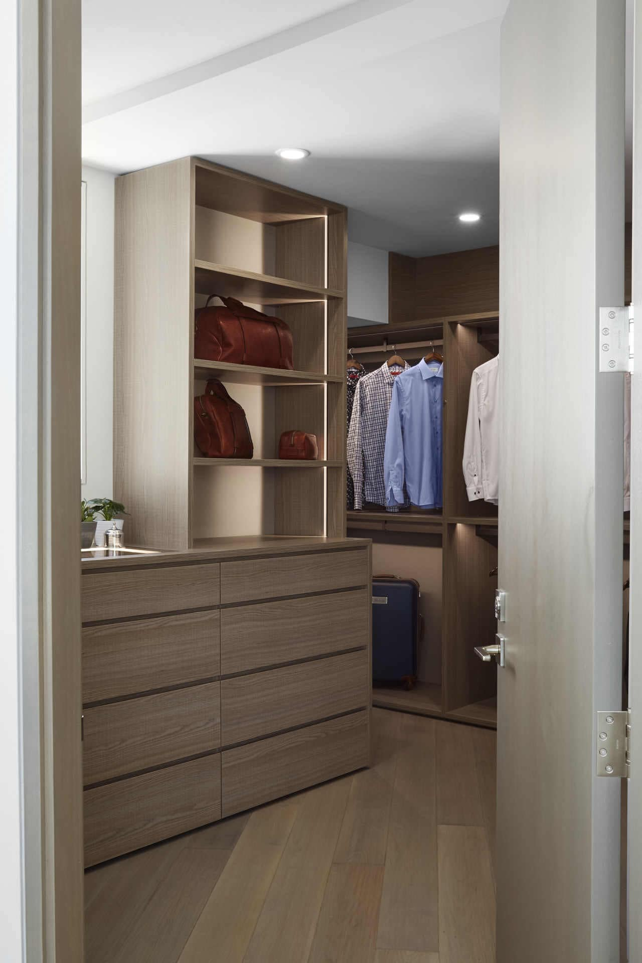 custom luxury schmalenbach closet for the man of the house