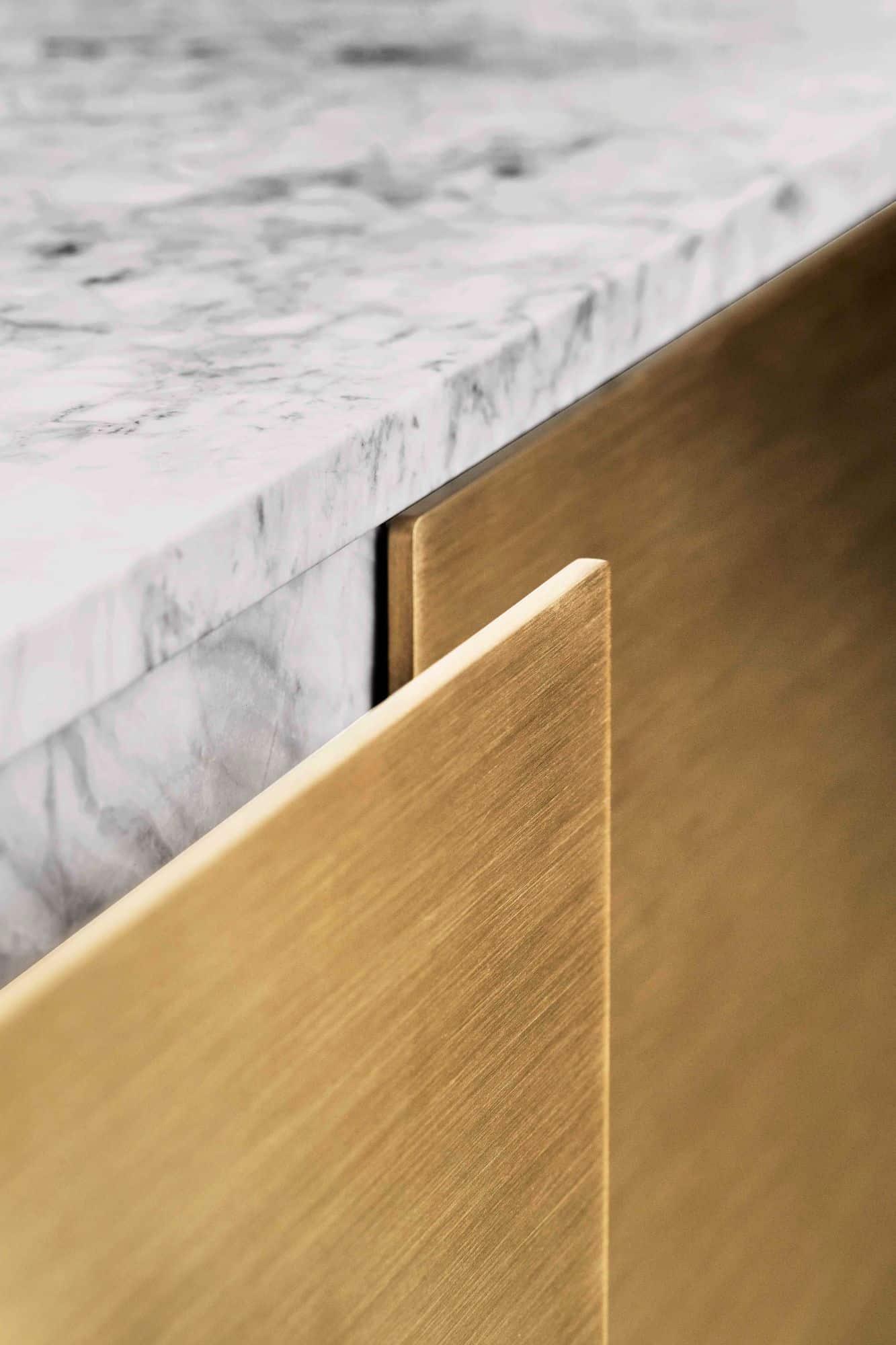 Brass 3mm drawer front