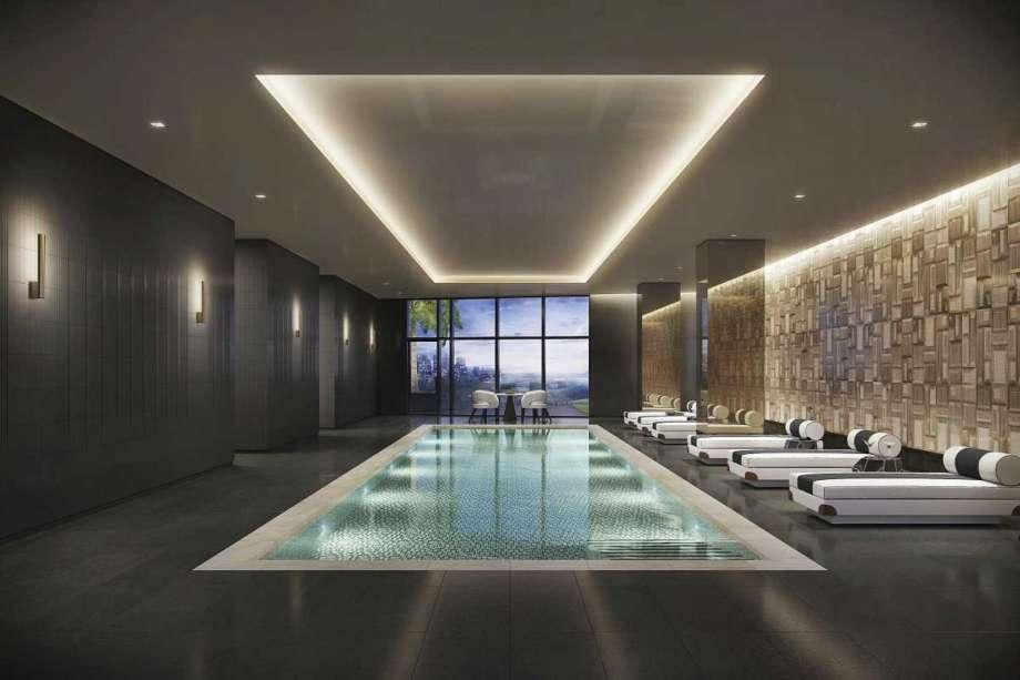 houston's arabella high rise condos luxury indoor swimming pool