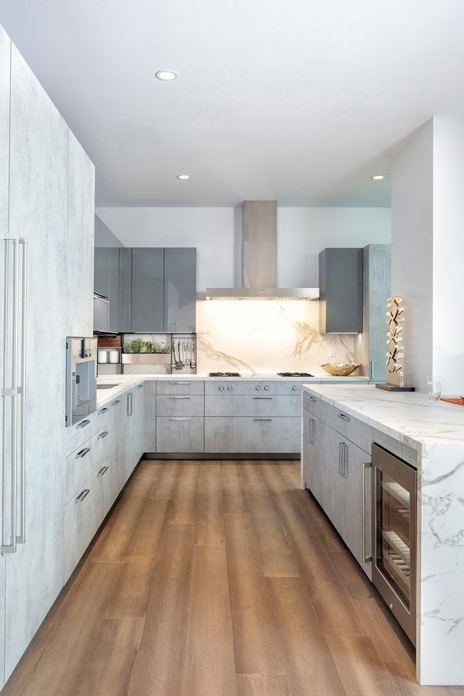 eggersmann designer kitchen the model unit of arabella luxury condos in houston