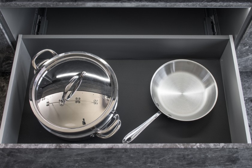 eggersmann cookware organizer in german cabinetry in huntingdon luxury high-rise on kirby in houston