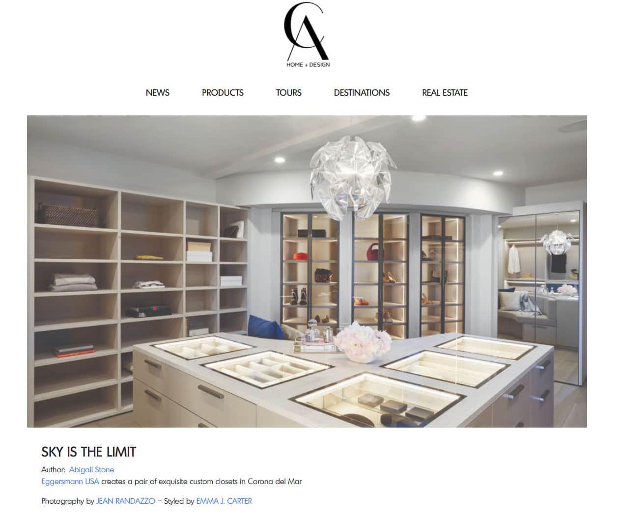 California Home + Design Wardrobe Editorial