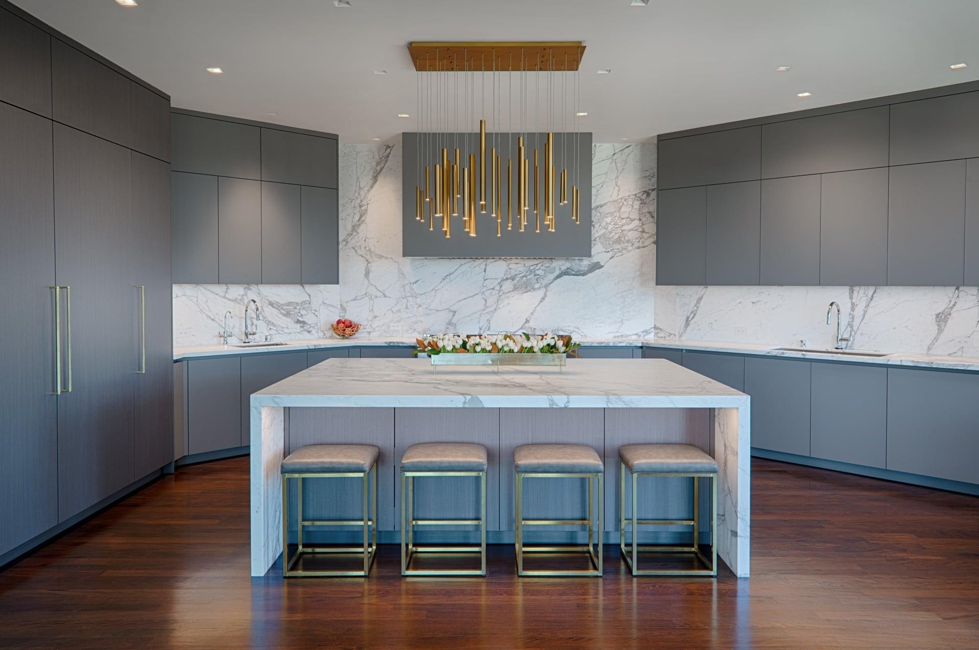 Luxury German Kitchen by eggersmann for Tiburon CA Owner