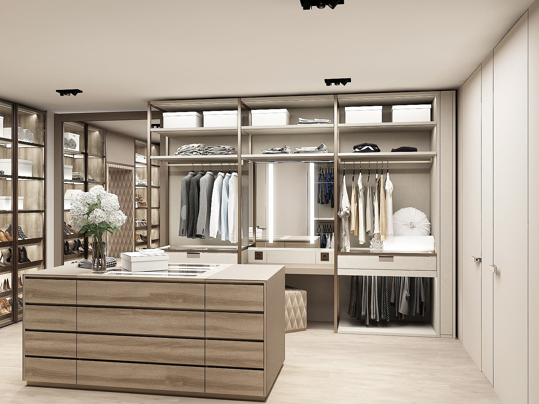coming soon: new luxury walk-in wardrobe in LA showroom