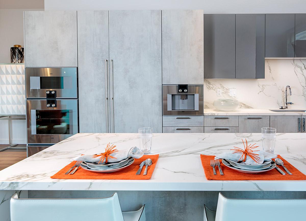 luxury gaggenau kitchen appliances