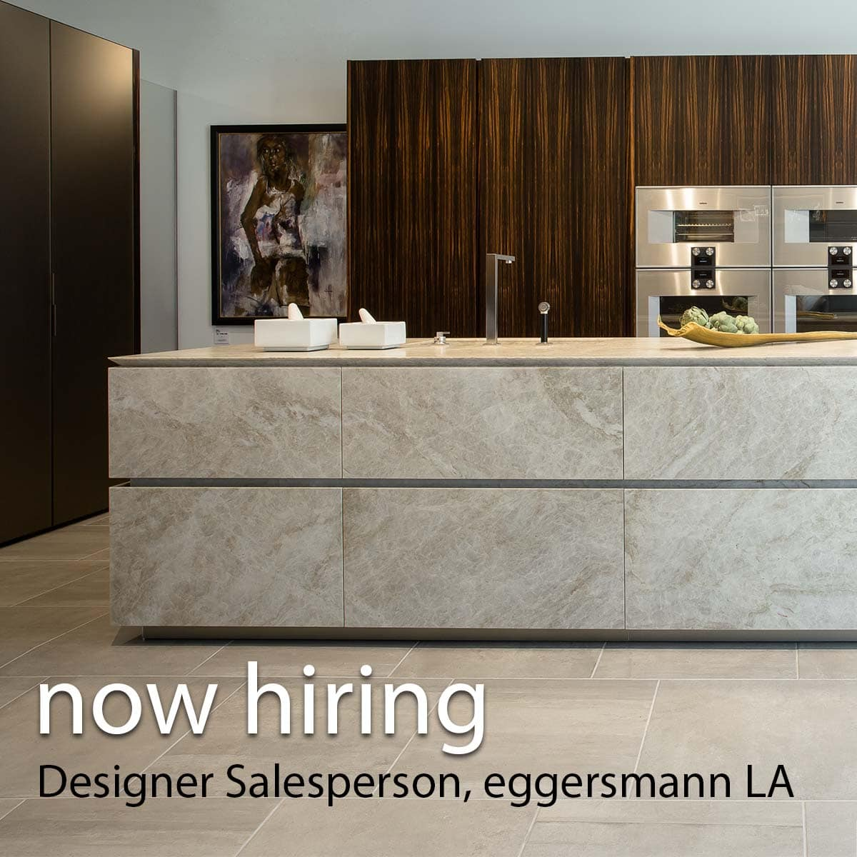 Designer Salesperson – Los Angeles, CA