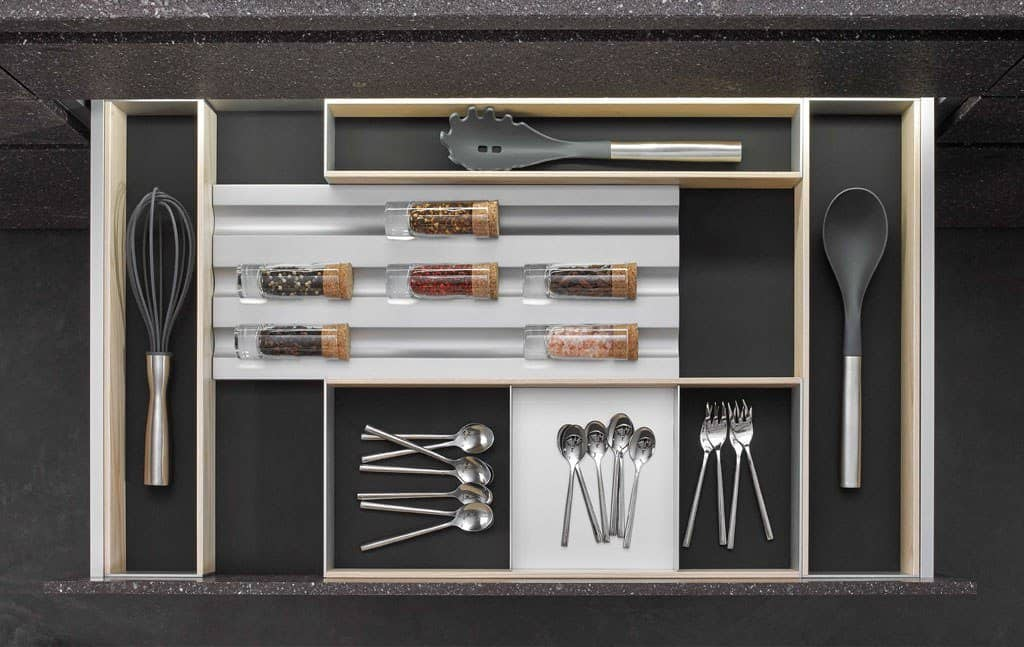 german cabinetry and drawer accessories