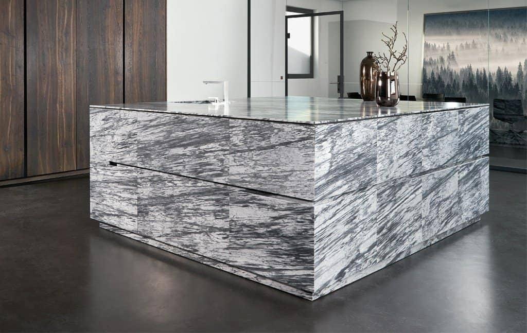 unique stone cabinetry