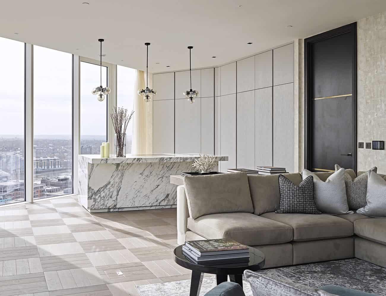 Arabescato Marble | Vancouver Finline Grey