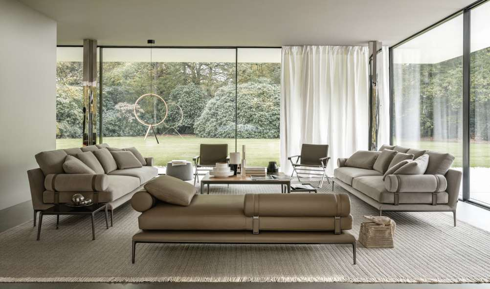 B&B Italia Atoll sofa by Antonio Citterio.
