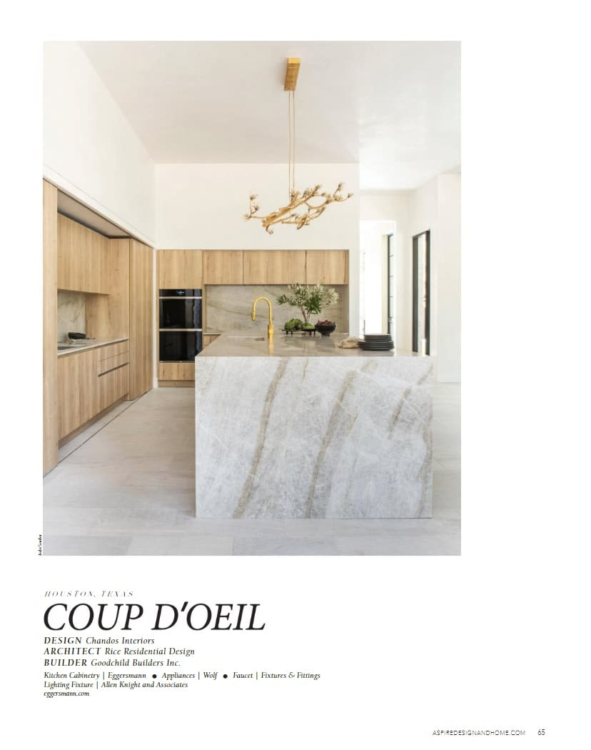 featured in Aspire Coup D'Oeil