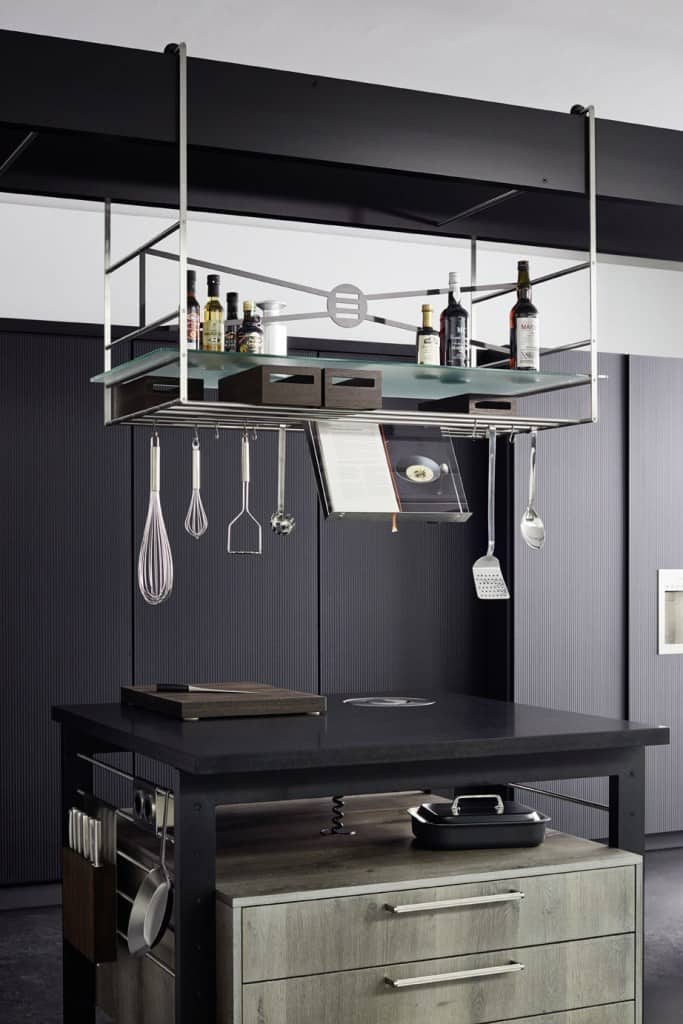 The Bridge in the Work's kitchen system means no more unruly utensil drawers