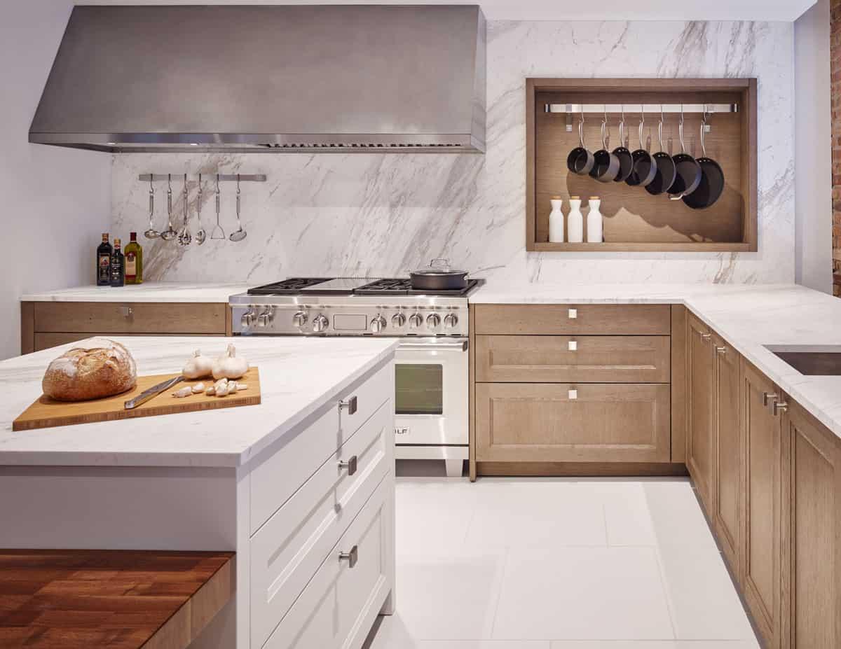 Windsor Oak Silver Brown | Nizza White