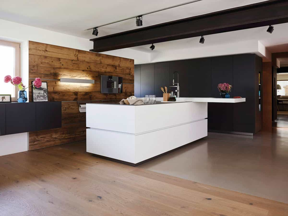 Matte White and Matte Black and Original solid wood for WALL system