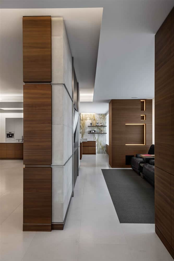 freestanding wall full of design and storage by eggersmann
