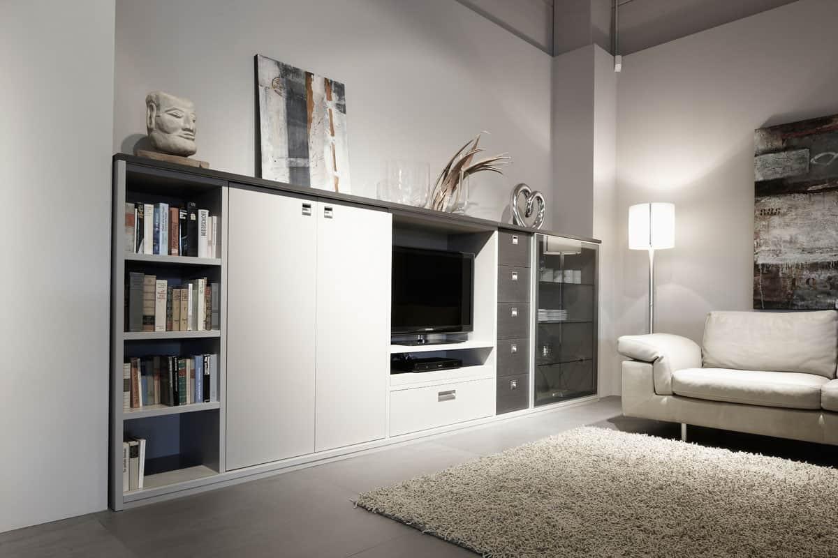 eggersmann modern german cabinets for storage and entertainment