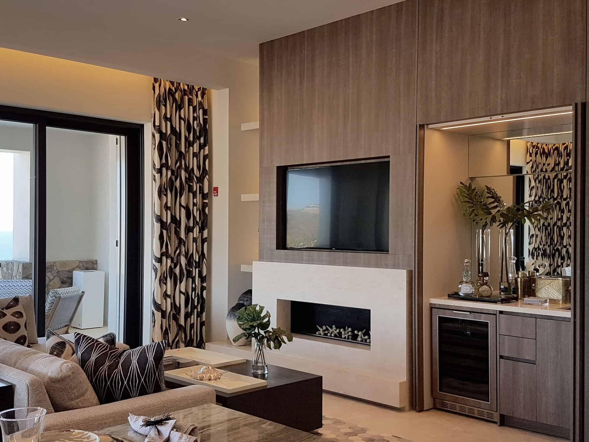 cozy modern design hides a lot of clutter thanks to eggersmann designers