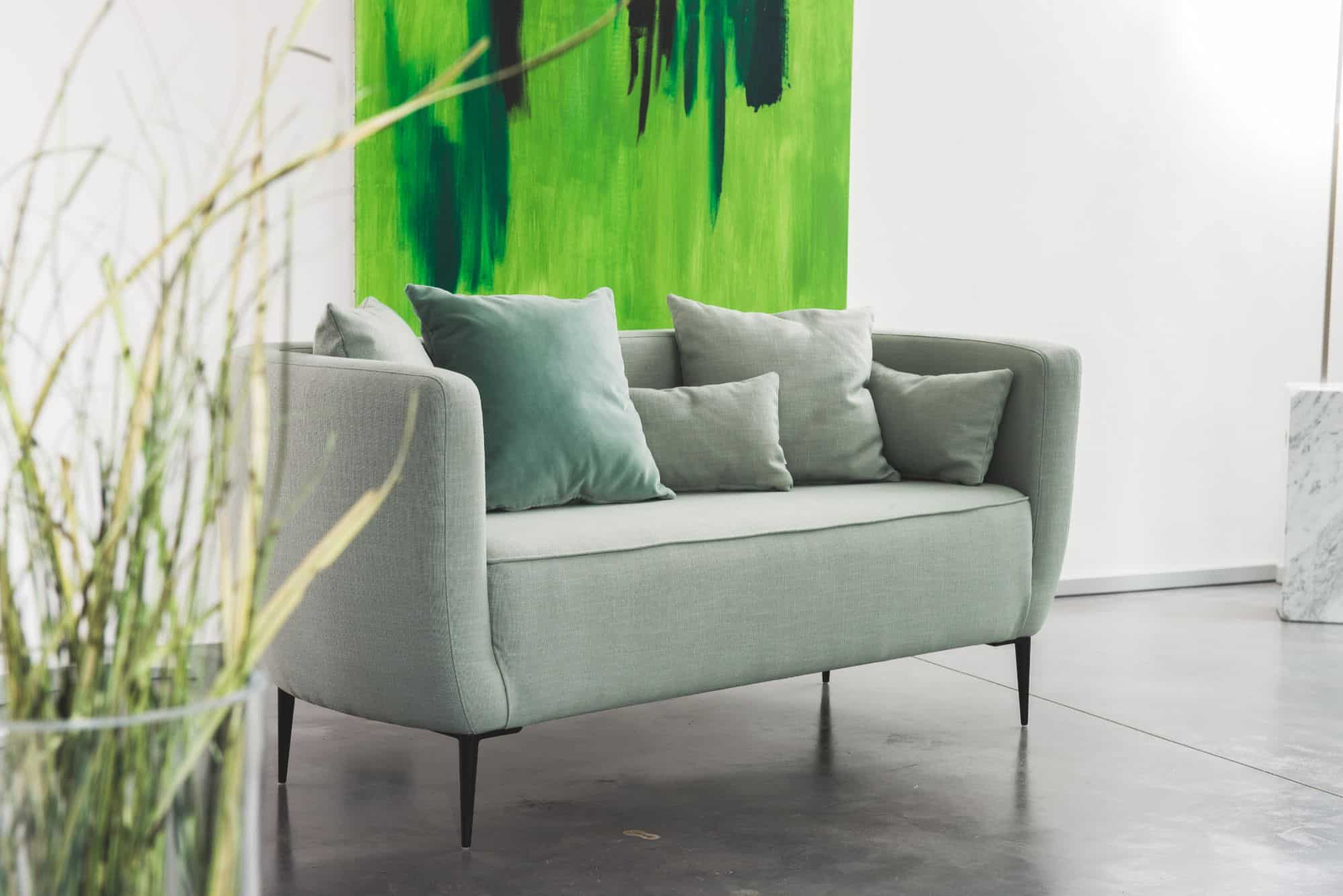 sophisticated living serenity two-seater sofa
