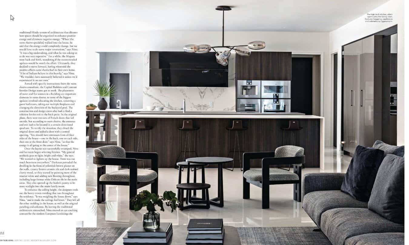 modern luxury interiors texas april 2019 issue features texas showhouse with eggersmann kitchen