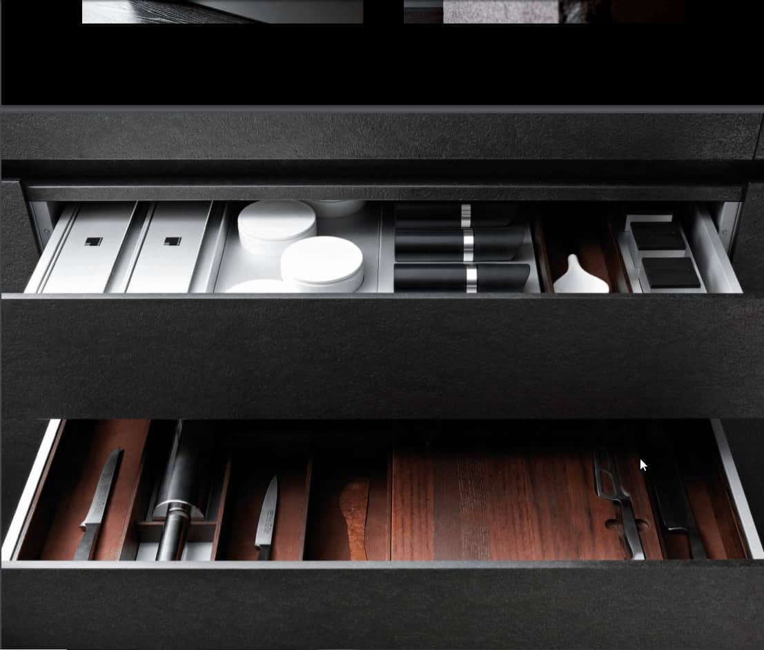 boxtec specialty drawer inserts for eggersmann cabinetry