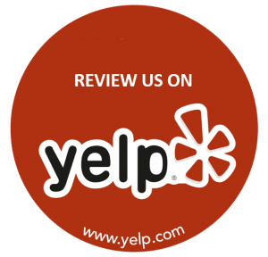 an icon to click to leave us a review on yelp