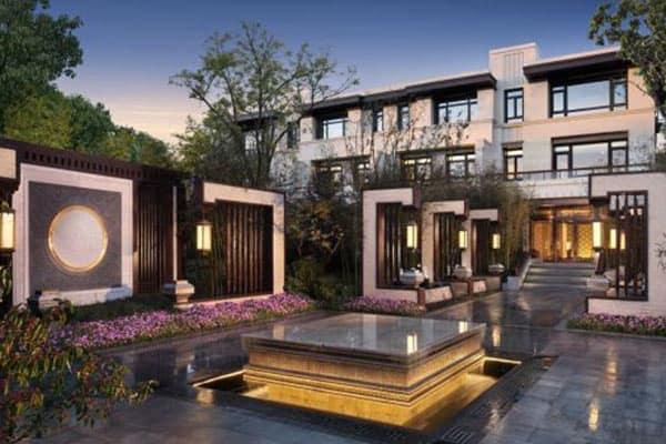 the thaihot china garden luxury residential development project in beijing china features 14 luxury german kitchens by eggersmann