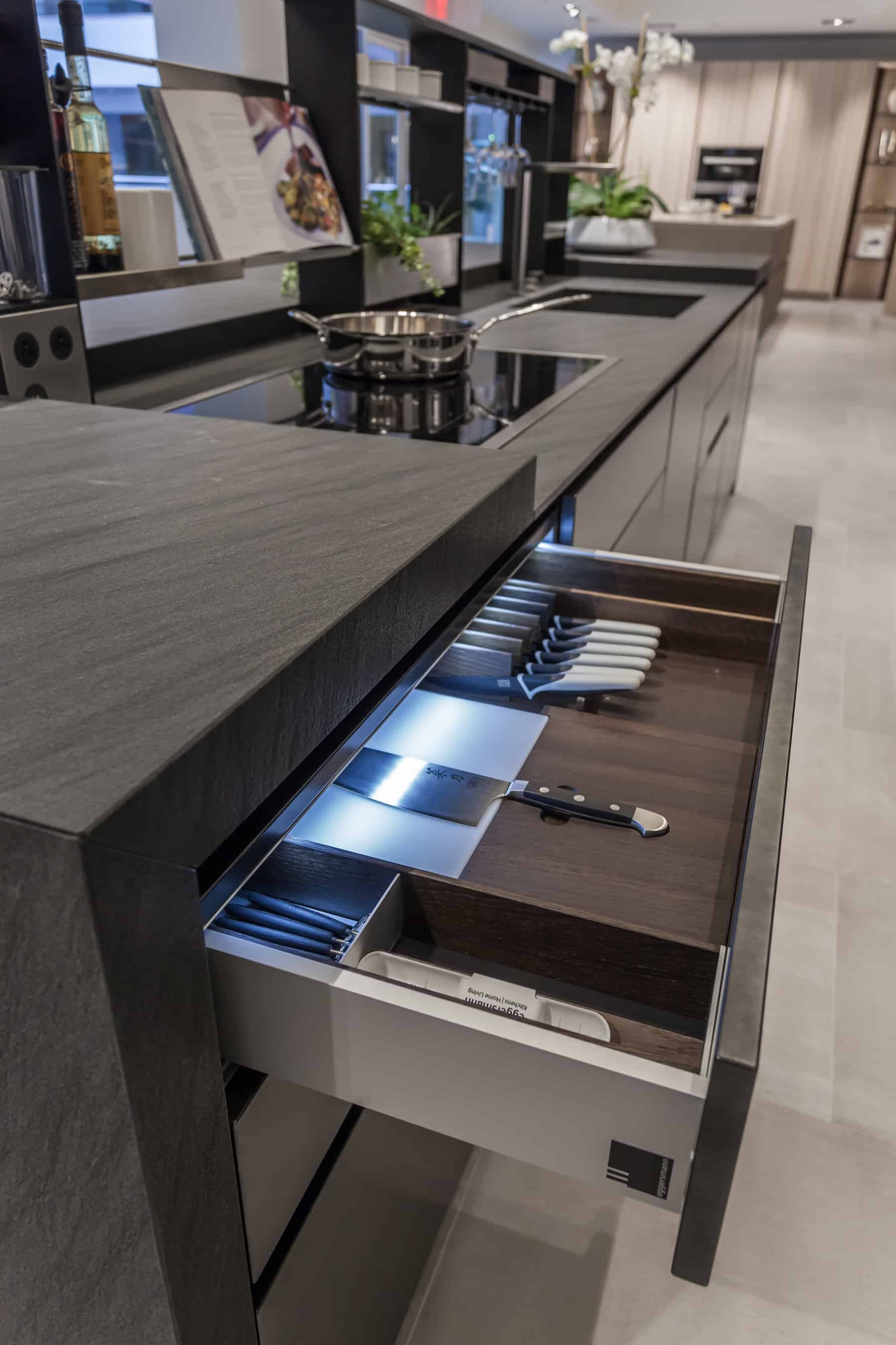 eggersman boxtec drawer organization for knives and cutlery