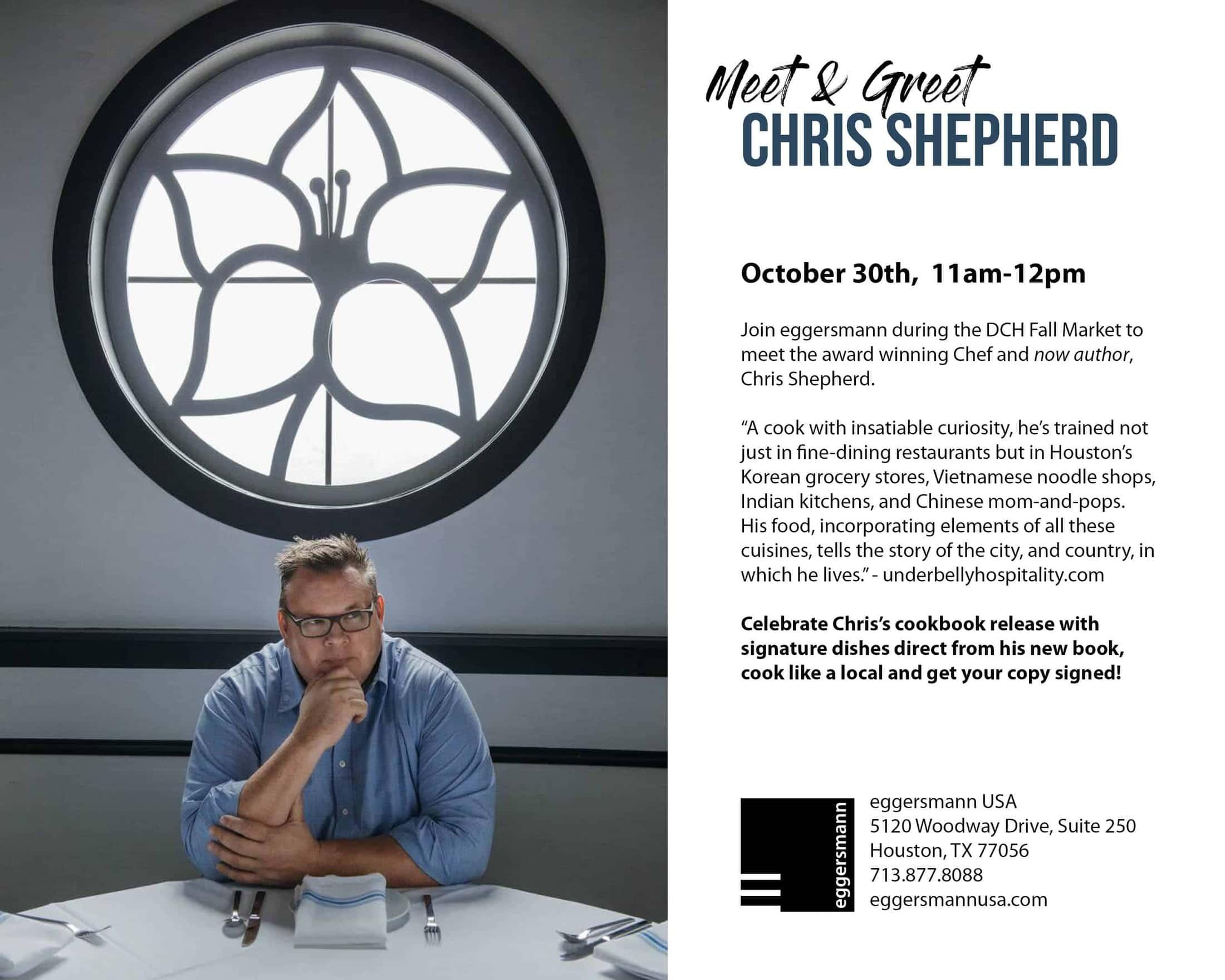Meet and Greet Chris Shepherd