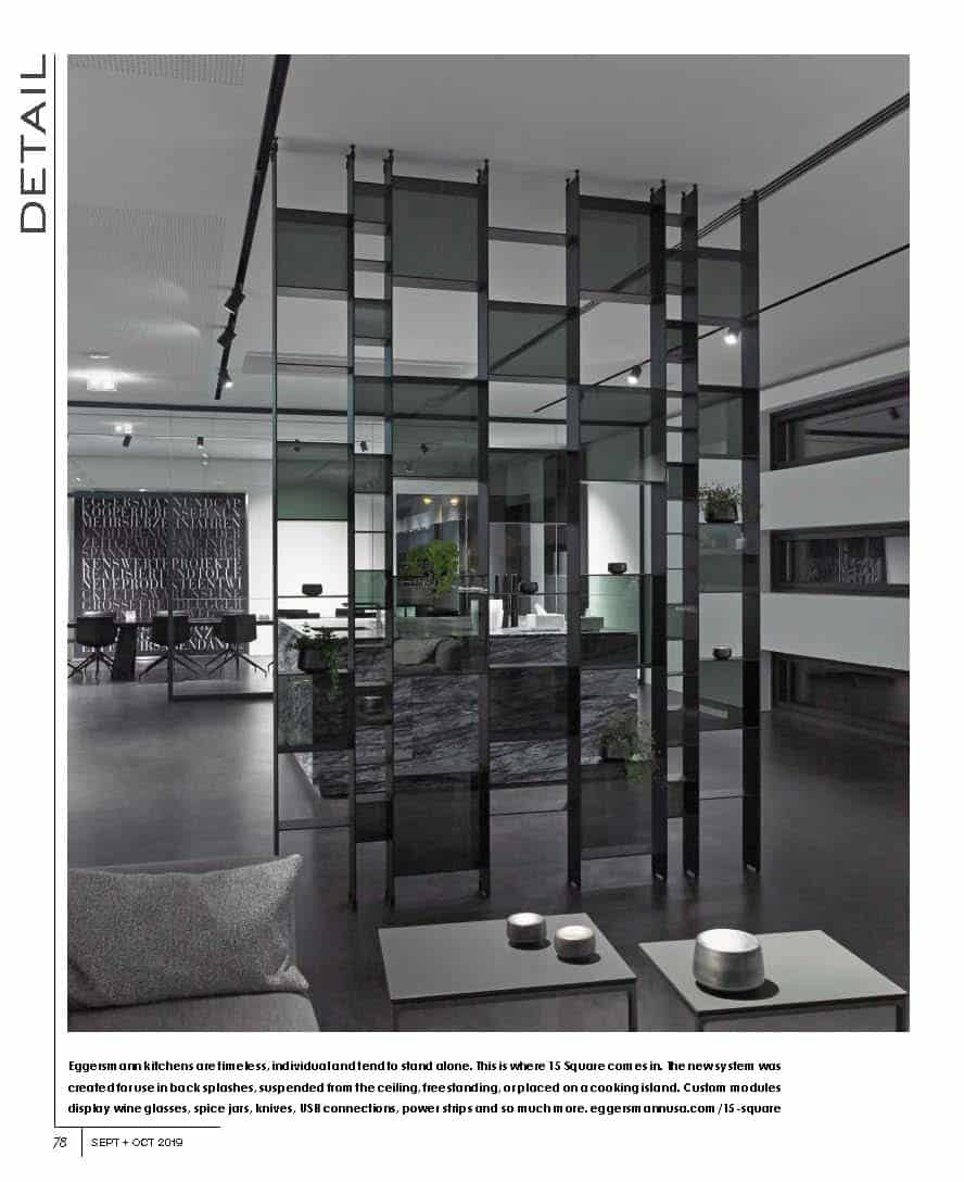 magazine article from INTERIORS SEPT OCT 2019