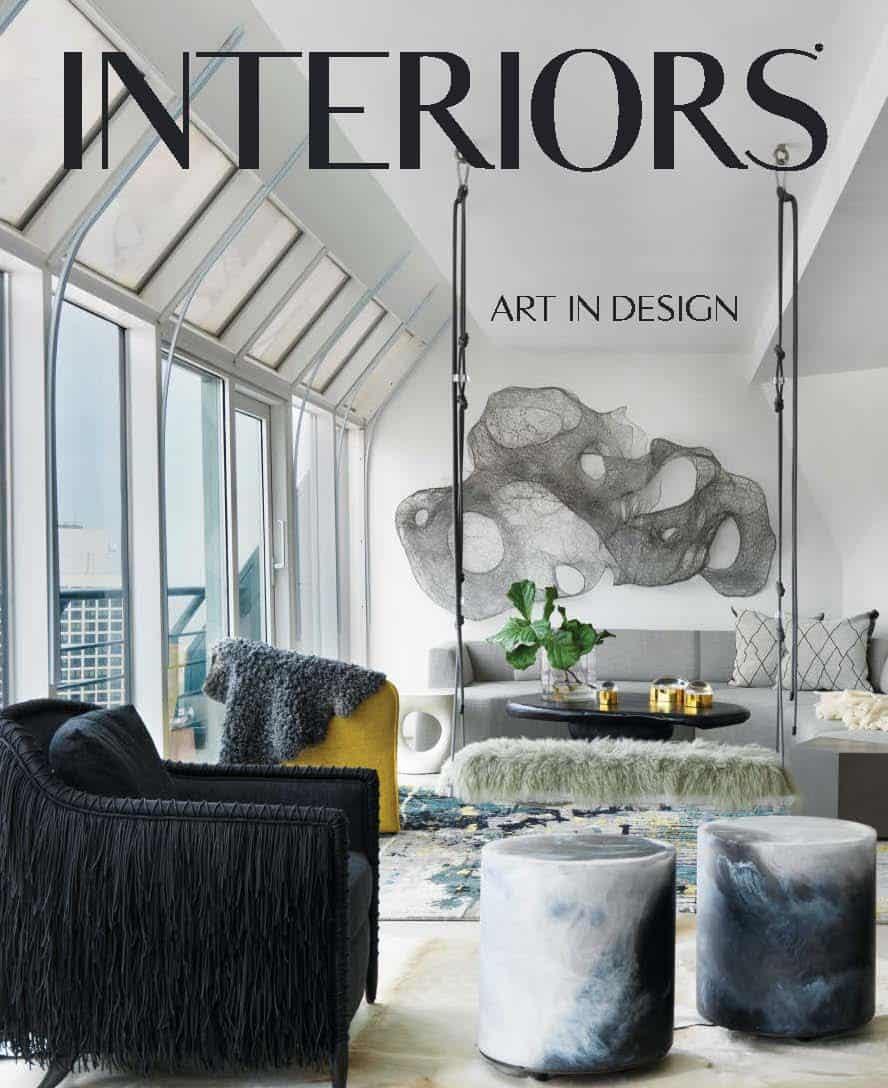 eggersmann wardrobe featured in Interiors Magazine