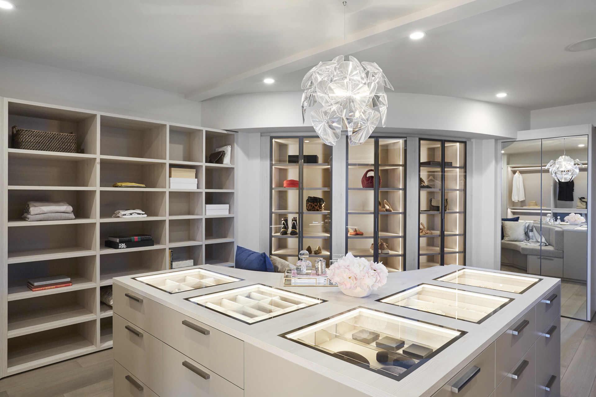 "bespoke luxury schmalenbach closet for ""her"""