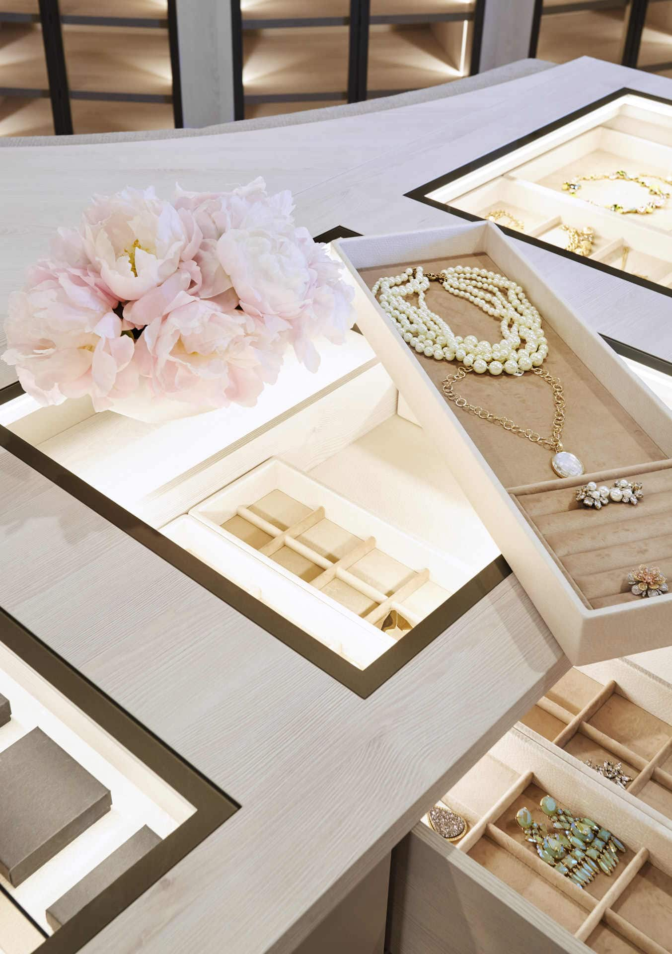 high-end drawer inserts for accessories such as jewelry