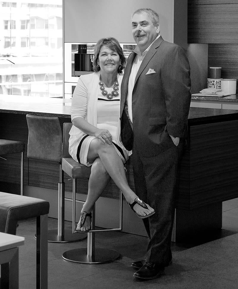 Sandra Soltoff (CFO) and Michael Soltoff (CEO) of eggersmann USA