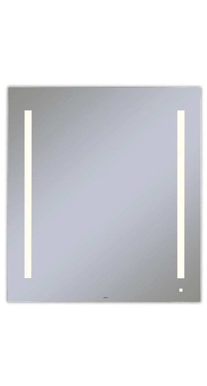 cordova charisma mirror with led lighting installed in all eggersmann-design baths in the parklane luxury condos