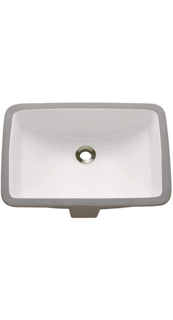 uninstalled revere porcelain bath sink installed in all eggersmann-design baths in the parklane luxury condos