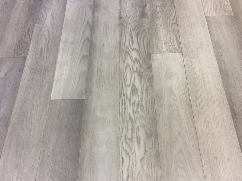 sample of chateau malbec wood flooring used in the etermally bold finish collectio for the parklane high rise luxury condos