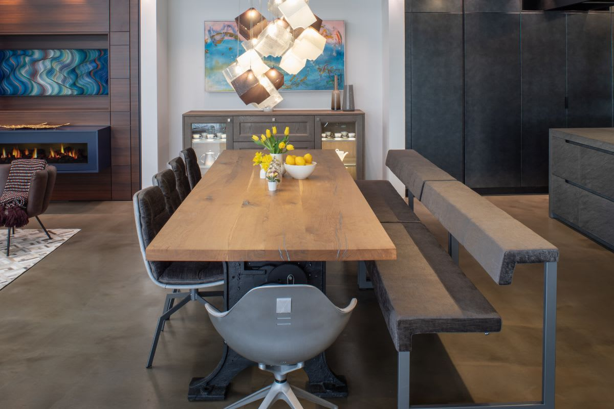 custom luxury dining chairs manufactured by kff desiged by eggersmann