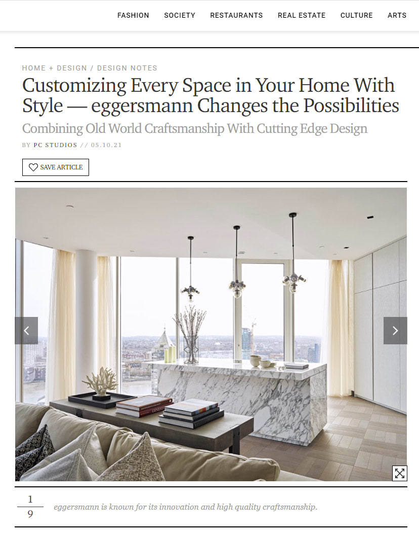 eggersmann customizes every space | featured in Paper City