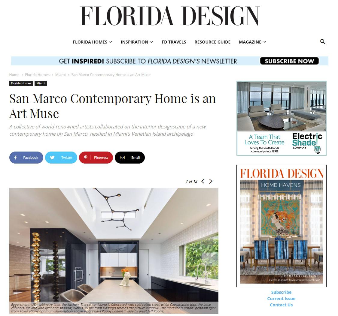 eggersmann featured in FL Design