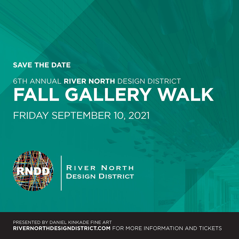 announcment for the RNDD Chicago 2021 Gallery Walk
