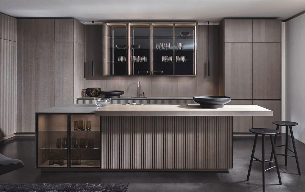 eggersmann kitchen with lausanne cabinet fronts