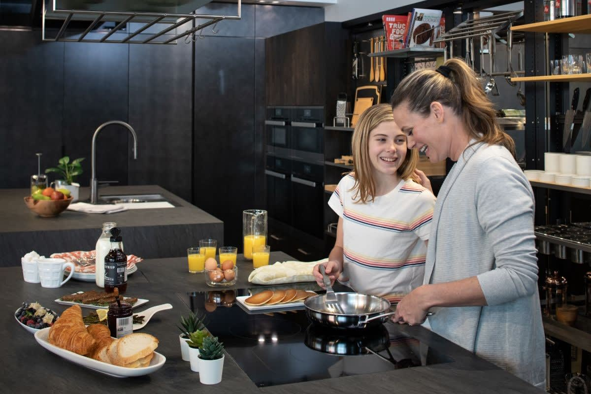 eggersmann the works pantry makes organizing for quick breakfasts easy